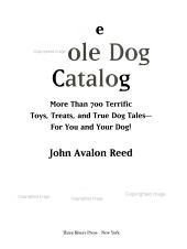 The Whole Dog Catalog PDF