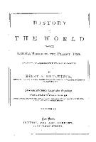 HISTORY OF THE WORLD FROM THE EARLIEST PERIOD TO THE PRESENT TIME PDF