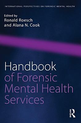 Handbook of Forensic Mental Health Services PDF