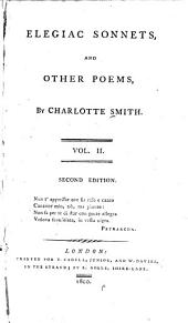 Elegiac Sonnets,: And Other Poems,
