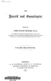 The Herald and Genealogist: Volume 7
