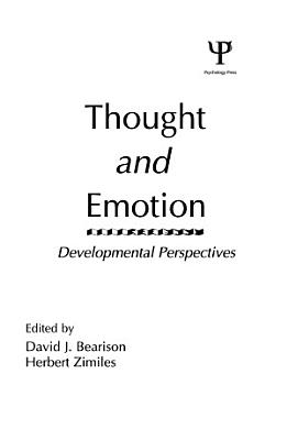 Thought and Emotion PDF