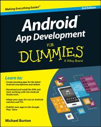 Android App Development For Dummies PDF