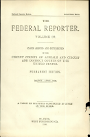 The Federal Reporter  Volume 99  PDF