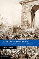 Paris and the Spirit of 1919 PDF
