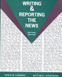 Writing and Reporting the News Book