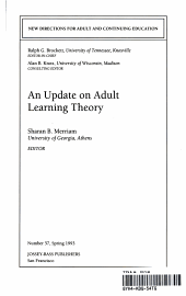 An Update on Adult Learning Theory PDF