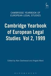 The Cambridge Yearbook of European Legal Studies PDF