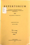 Repertorium van boeken en tijdschriftartikelen betreffende de geschiedenis van Nederland PDF