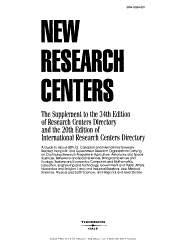 New Research Centers Book PDF