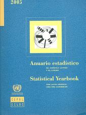 Statistical yearbook for Latin America and the Caribbean