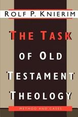 The Task of Old Testament Theology PDF