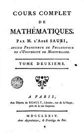 Cours complet de mathématiques, 2