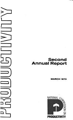 Annual Report   National Commission on Productivity