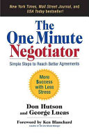 The One Minute Negotiator