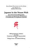 Japaner in der Neuen Welt PDF