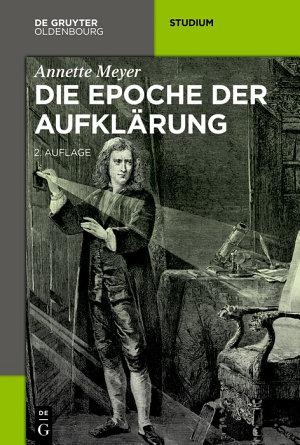 Die Epoche der Aufkl  rung PDF