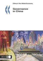 China in the Global Economy Governance in China PDF