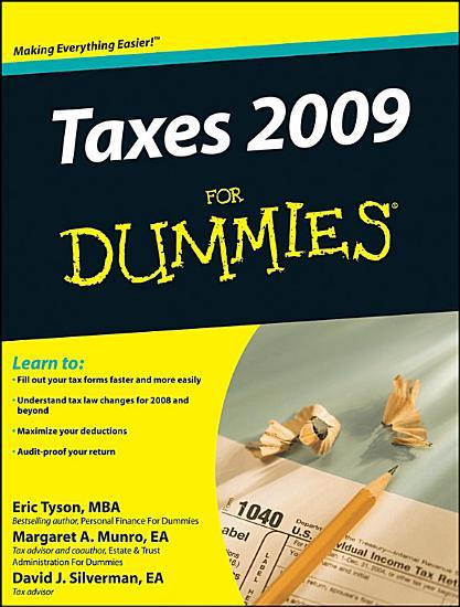 Taxes 2009 For Dummies PDF