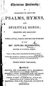 Christian Psalmody ... Thirty-fifth thousand