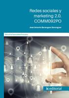 Redes sociales y marketing 2  COMM092PO PDF