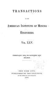 Transactions: Volume 25
