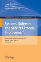 Systems  Software and Services Process Improvement PDF