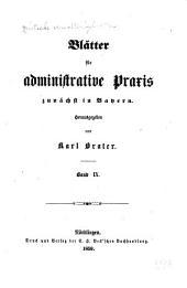 Deutsche Verwaltungsblätter: Blätter für administrative Praxis, Band 9