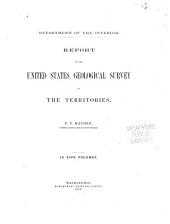 Contributions to the Extinct Vertebrate Fauna of the Western Territories: Volume 1