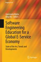 Software Engineering Education for a Global E Service Economy PDF