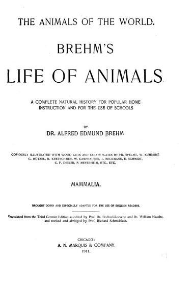 The Animals of the World PDF