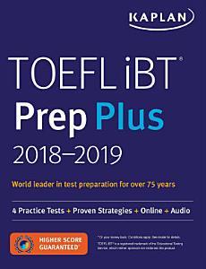TOEFL IBT Prep Plus 2018 2019 PDF