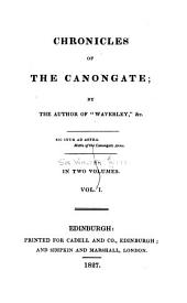 Chronicles of the Canongate: Volume 1