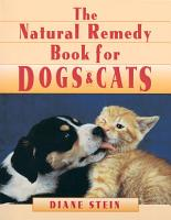 Natural Remedy Book for Dogs and Cats PDF
