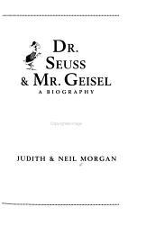 Dr  Seuss   Mr  Geisel PDF