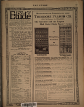 Etude: Volume 30, Issue 8