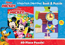 Disney Junior Mickey Mouse Clubhouse  Little First Look and Find Book   Puzzle PDF