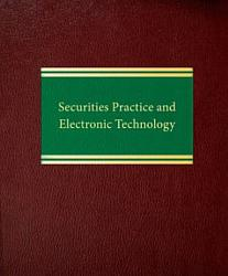 Securities Practice and Electronic Technology PDF