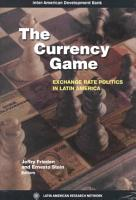 The Currency Game PDF