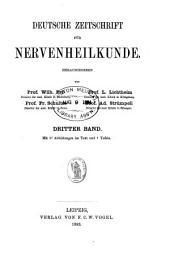 Deutsche Zeitschrift für Nervenheilkunde: Band 3