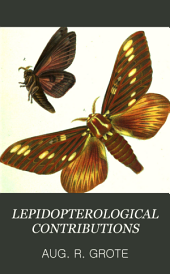 Lepidopterological Contributions