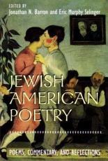 Jewish American Poetry PDF