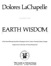 Earth Wisdom PDF