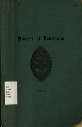 Journal of the ... Annual Session of the Convention of the Diocese of Louisiana