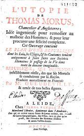 L' Utopie de Thomas Morus ... trad. ... par Mr. Gueudeville & ornée de très belles figures