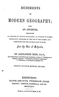 Rudiments of modern geography PDF