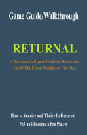 Returnal Game Guide/Walkthrough
