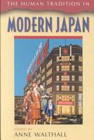 The Human Tradition in Modern Japan PDF
