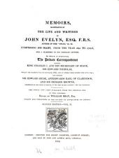 Memoirs, illustrative of the life and writings: comprising his diary, from the year 1641 to 1705 - 6, and a selection of his familiar letters : the whole now first publ. from the orig. mss. in 2 vol, Volume 2