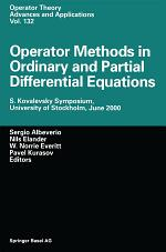 Operator Methods in Ordinary and Partial Differential Equations
